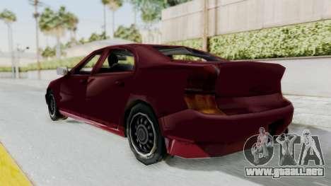 GTA 3 Kuruma para GTA San Andreas vista posterior izquierda