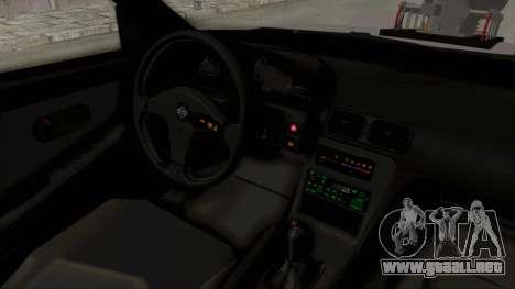 Nissan 240SX Monster Truck para visión interna GTA San Andreas