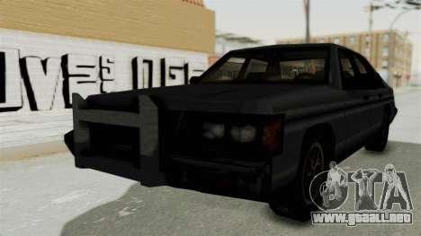 Cruiser from Manhunt 2 para GTA San Andreas vista posterior izquierda