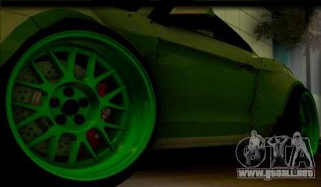 Ford Mustang RTRX Coupe para GTA San Andreas vista hacia atrás