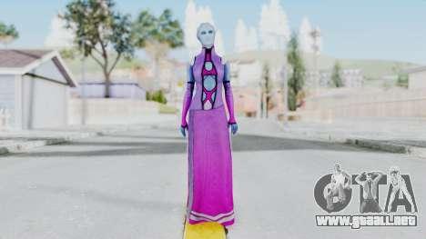 Mass Effect 1 Shaira Dress para GTA San Andreas segunda pantalla