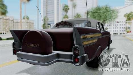 GTA 5 Declasse Tornado Bobbles and Plaques para GTA San Andreas left
