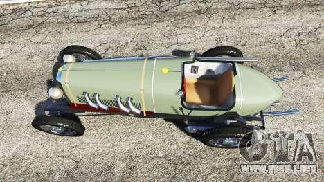 GTA 5 Fiat Mefistofele vista trasera