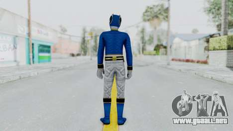 Power Rangers Megaforce - Blue para GTA San Andreas tercera pantalla