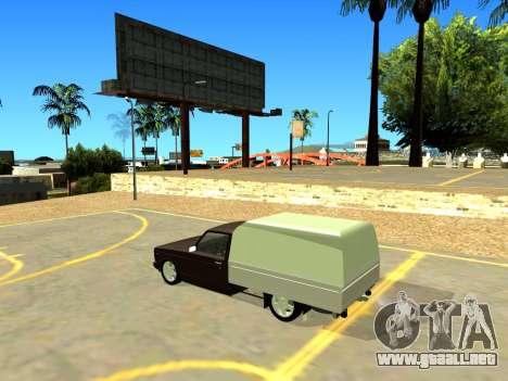 Vis 2345 para GTA San Andreas vista posterior izquierda