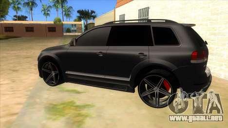 Volkswagen Touareg HQ para GTA San Andreas left