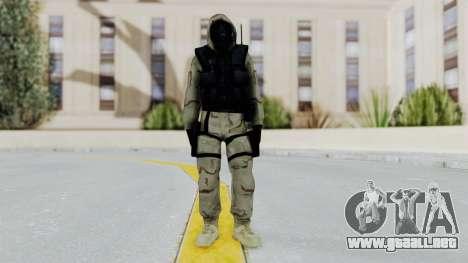 Hodeed SAS 2 para GTA San Andreas segunda pantalla