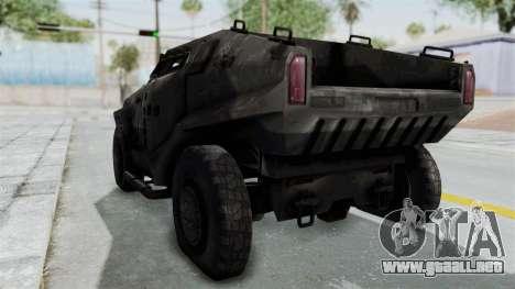 PITBULL from CoD Advanced Warfare para la visión correcta GTA San Andreas