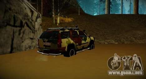 Chevrolet Tahoe LTZ v2 Camofluge para GTA San Andreas left