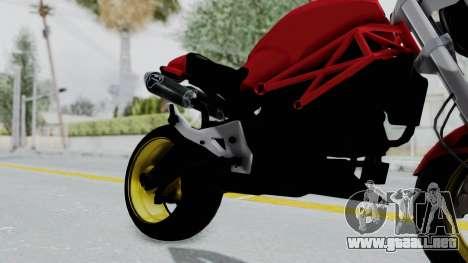 Ducati Monster para la visión correcta GTA San Andreas