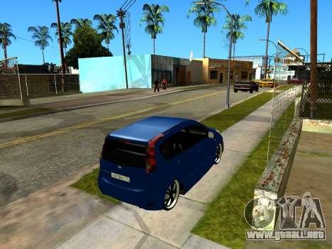 Nissan Note KURMIN StreetRacer para visión interna GTA San Andreas