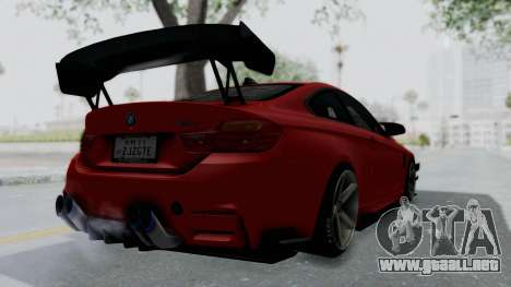 BMW M4 F82 Race Tune para GTA San Andreas left
