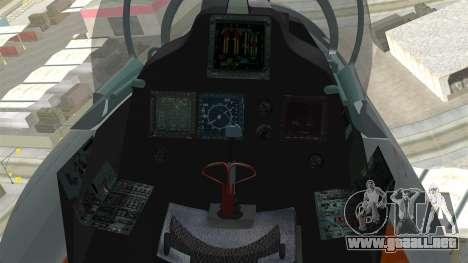 SU-30 MKI para la visión correcta GTA San Andreas