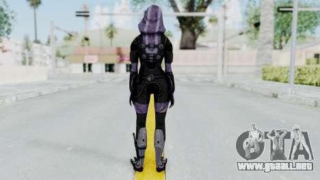 Mass Effect 3 Tali Zorah Unmasked para GTA San Andreas tercera pantalla