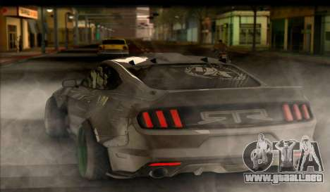 Ford Mustang RTRX Coupe para GTA San Andreas left
