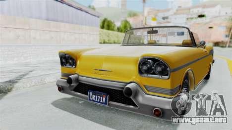 GTA 5 Declasse Tornado Bobbles and Plaques IVF para GTA San Andreas