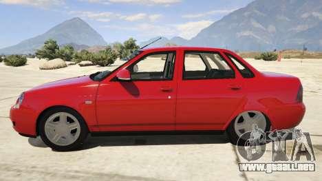 GTA 5 Lada Priora v.2.3 vista lateral izquierda