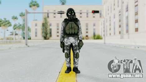 Black Mesa - HECU Marine v1 para GTA San Andreas segunda pantalla