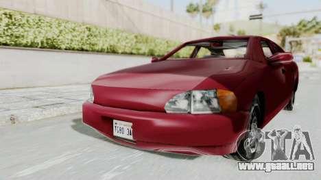 GTA 3 Kuruma para la visión correcta GTA San Andreas