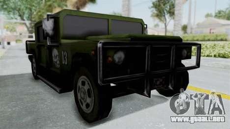 Patriot from Manhunt 2 para GTA San Andreas