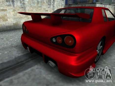 Elegy PFR v1.0 para GTA San Andreas vista hacia atrás