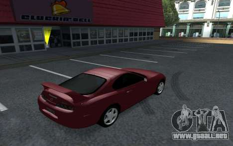 Toyota Supra Tunable para GTA San Andreas left
