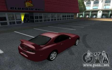 Toyota Supra Tunable para GTA San Andreas left