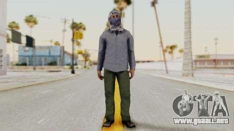Middle East Insurgent v2 para GTA San Andreas segunda pantalla