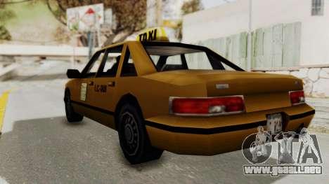 GTA 3 - Taxi para GTA San Andreas left