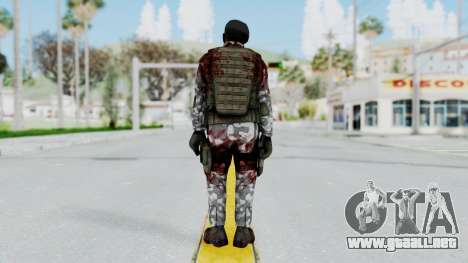 Black Mesa - Wounded HECU Marine Beret para GTA San Andreas tercera pantalla
