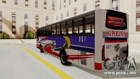 Superlines Ordinary Bus para GTA San Andreas left
