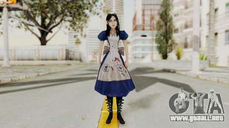 Alice Madness Returns para GTA San Andreas segunda pantalla