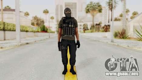 CoD AW KVA SMG para GTA San Andreas segunda pantalla