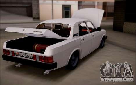 GAS de 31029 Volga para GTA San Andreas left