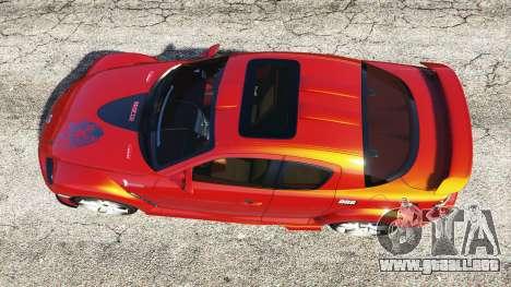 GTA 5 Mazda RX-8 2004 vista trasera