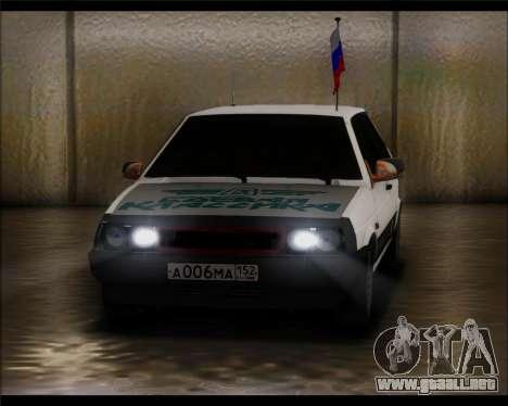 VAZ 2108 Militares Clásicos para GTA San Andreas