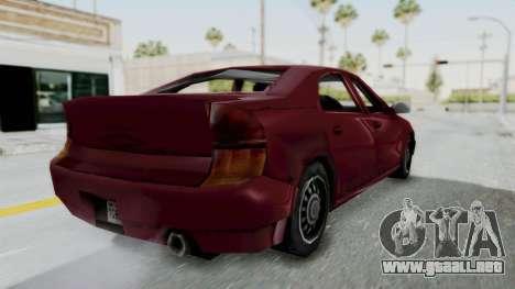 GTA 3 Kuruma para GTA San Andreas left