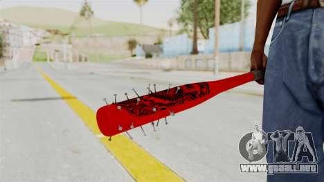 Nail Baseball Bat v2 para GTA San Andreas
