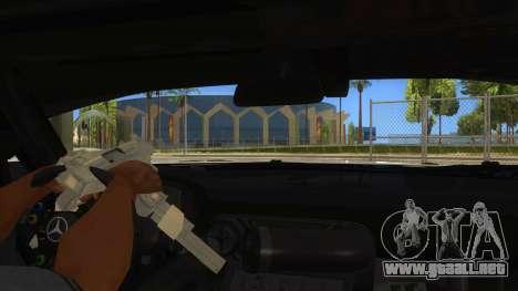 Mercedes Benz SLS AMG GT3 para vista inferior GTA San Andreas