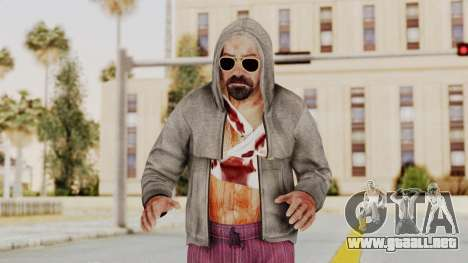 Kane And Lynch 2 - Lynch Hood Up para GTA San Andreas