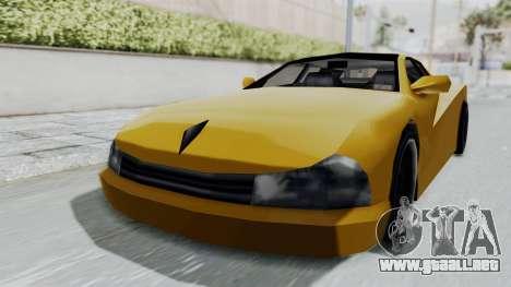 Cheetah ZTR v1 para GTA San Andreas vista posterior izquierda