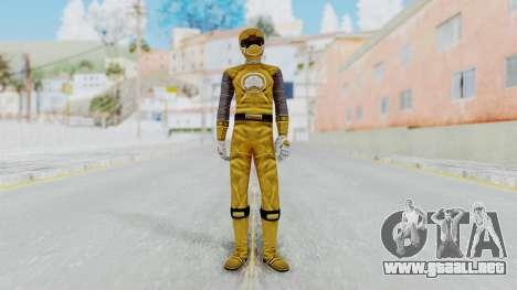 Power Rangers Ninja Storm - Yellow para GTA San Andreas segunda pantalla
