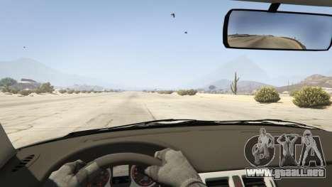 GTA 5 Lada Priora v.2.3 vista trasera