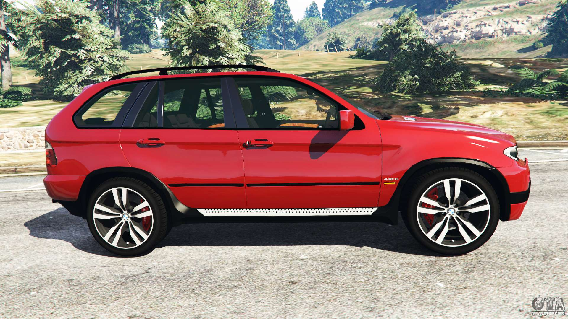 bmw x5 e53 2005 para gta 5. Black Bedroom Furniture Sets. Home Design Ideas