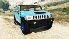 Hummer H2 2005 [teñido] v2.0