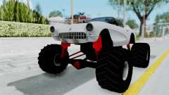Chevrolet Corvette C1 1962 Monster Truck para GTA San Andreas