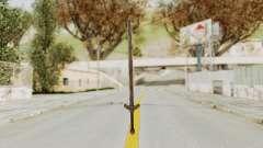 Skyrim Iron Long Sword para GTA San Andreas