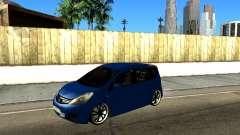 Nissan Note KURMIN StreetRacer para GTA San Andreas