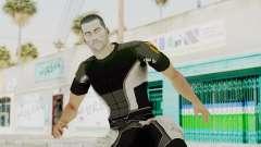 Mass Effect 2 Shepard Casual para GTA San Andreas