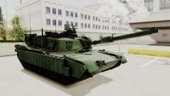 M1A2 Abrams Woodland Croatian
